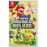 New Super Mario Bros U Deluxe Nintendo Switch.... Entrega Ya
