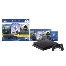 Playstation 4 Ps4 Slim 1tb Con 3 Juegos Pctechnical