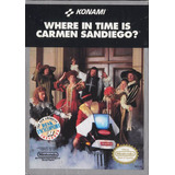 Where In Time Is Carmen Sandiego (completo) - Nes