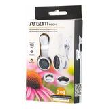 Argom Kit Universal 3-en-1 Para Lente De Teléfono Celular