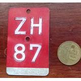 Placa Coleccionable De Bicicleta Suiza