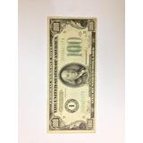 Billete $100 De 1934