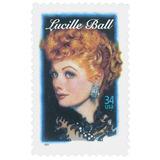 Us Sc #3523 ¿ 2001 34c Lucille Ball, Usada Con Matasello