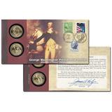 Portada Del Primer Día De La Moneda De George Washington 200