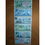 Billetes De Colección Son 6 Nunca Usados (nuevos)leer Bien