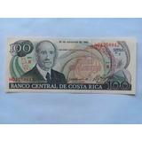 Billete Antiguo De Costa Rica Rema