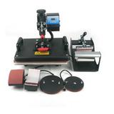Plancha Para Sublimación Y Transfer 5 En 1 Unlimited Ink