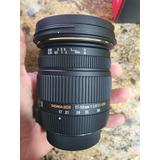 Lente Sigma 17-50mm F/2.8 Ex Dc Os Hsm Zoom Para Nikon