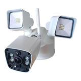 Cámara Iflux Fl301 1080p 16gb Wifi Con Lámpara X Movimiento