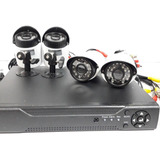 Dvr Channel Cctv Kit 4 Camaras Seguridad