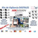 Sistema De Seguridad Nvr Hikvision 16 Cámaras Dig 1tb 300 M