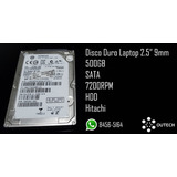 Disco Duro 2.5 Hdd 500gbs 7mm/9mm Para Laptop/ps3/ps4/xbox