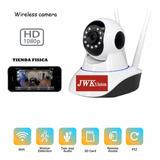 Camara Seguridad Wifi Ip Fullhd 1080p Nocturna Motorizad Jwk