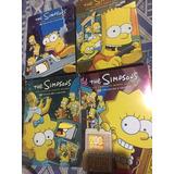 Los Simpsons Temporadas 1-10 Dvd Original, Todas Mas La Peli