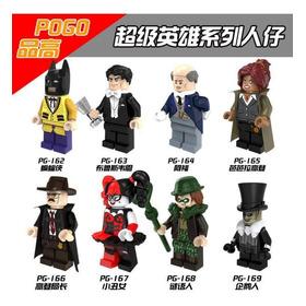 Lego De Super Héroes Y Villanos De Batman.