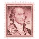 Us Sc #1046 - 1958 15c John Jay Con Matasello.