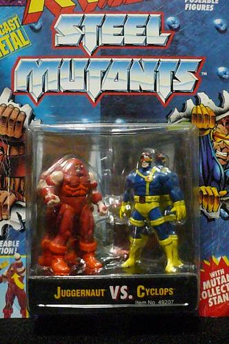 X-men Steel Mutants Juggernaut Vs Cyclops.