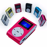 Reproductor Mp3 Radio Fm Oled Recargable Portatil Aco Store!