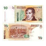 Billete De Argentina 10 Pesos Numismatic Collection