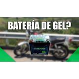 Batería De Moto En Gel
