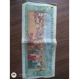 Billete De 5 Colones Para Coleccion Moneda De Costa Rica