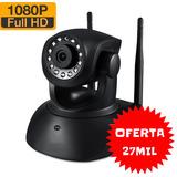 Camara Seguridad Ip Wifi Full Hd Camhi Nocturna Motorizada