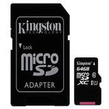 Memoria Micro Sd Kingston 64 Gb Icb Technologies