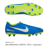 Tacos Nike Mercurial Vortex Neymar Originales
