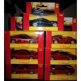 Colección De Autos Ferrari 1:38 Completa