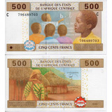 Billete De Africa Central Chad Unc Apo