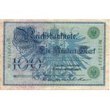 Billete De Alemania Año 1908 Circulado Apo