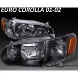 Focos Euros Toyota Corolla 01 - 02  ,jdm , Oferta