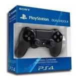 Controles Negros Playstation 4 Ps4 Originales - Nuevo