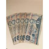15 Billetes De 10 Cls, Años 80s En Exc. Estado.