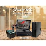 Kit Punto De Venta Con Software - Factura Electronica