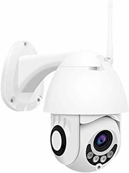 Ptz Cámara De Seguridad Ip Wifi Hd 1080p, Cámara Domo Cctv