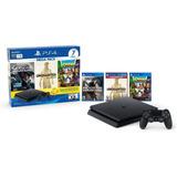 Playstation 4 Slim Ps4 1tb Bundle Hits 3 Juegos Incluidos