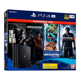 Playstation 4 Pro Con 4 Juegos Nuevo! Grupo Villa
