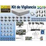 Sistema Vigilancia Hikvision 32 Cámaras Hd 1080p 3tb 610mt