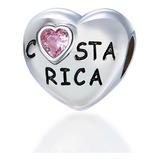 Charm Costa Rica Pura Vida, Estilo Original, Para Pandora