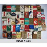 Colección 100 Cajetillas Cigarros Nacionales Y Extranjeros