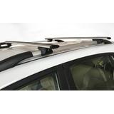 Rack Aerodinamico En Aluminio Con Llave, Instalación Gratis