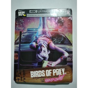Harley Quinn: Birds Of Prey Steelbook Blu Ray 4k
