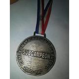 Medalla De Heredia Subcampeón Y De Pentacampeón Del Saprissa