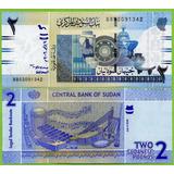 Billete De Sudan 2 Pounds 2006, P-65  Unc . Mlc