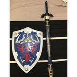 Master Sword Y Escudo Hylian (colección Zelda)