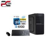 Computadora Intel Core I3 6100, Ram 8gb Ddr4, Ssd 128gb M.2