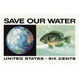 Us Sc #1412 - 1970 6c Anti-pollution/globe &  Con Matasello.