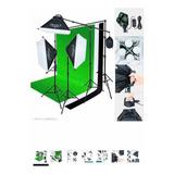 Kit Iluminación Para Estudio Fotográfico 2000 W