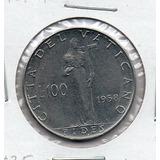 Moneda Del Vaticano Papa Pio Xii # 5056 Apo